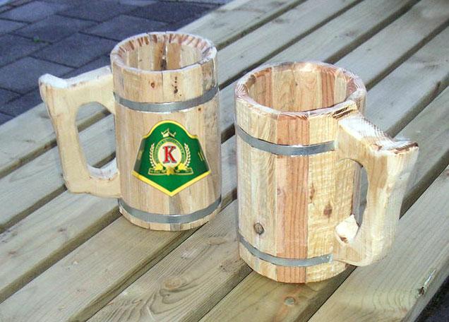 Een Konrad houten bierpul maken - Konrad Nederland